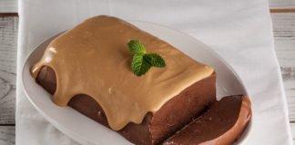 marquise de chocolate e caramelo
