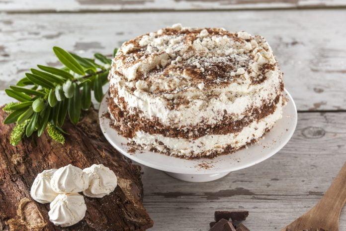 merengue de chocolate bolacha e nata