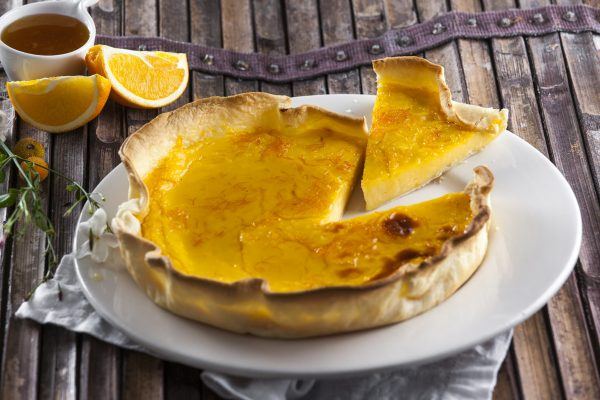 quiche de laranja