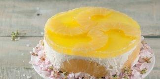 semifrio de ananas e leite condensado