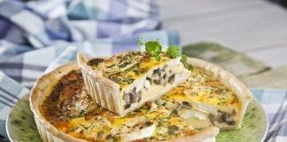 tarte de queijo de cabra