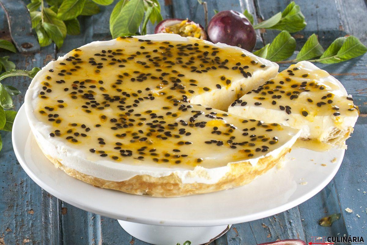 tarte de requeijao com maracuja