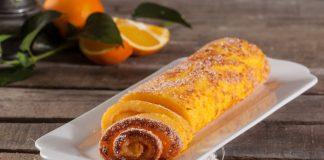torta de laranja molhadinha
