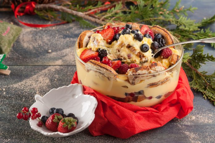 Trifle de Natal