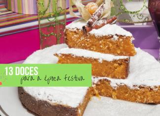 13 doces para a época festiva