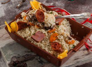 arroz de pato com laranja