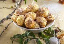Receita rápida de bolinhos de coco