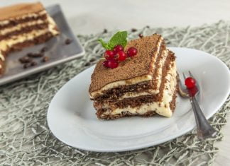 Receita de bolo tiramisu