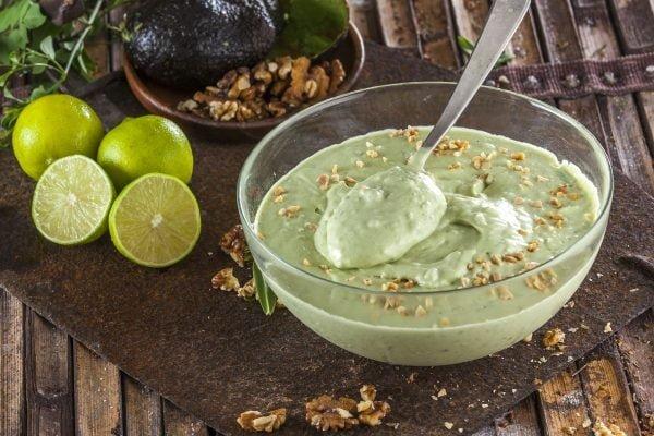 receita de mousse de abacate