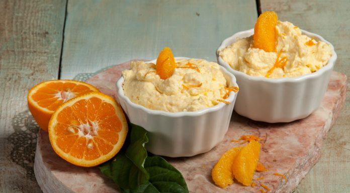 Receita de mousse de laranja fácil