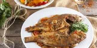 Receita de peixe assado no forno