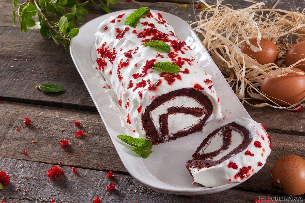 torta red velvet de natal 1