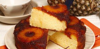 bolo de ananas caramelizado