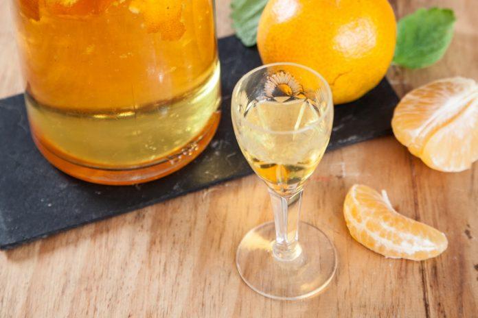 licor de tangerina