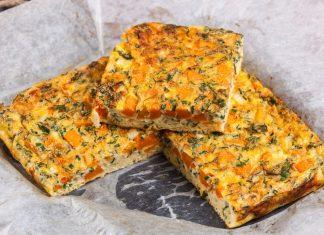 omelete de abobora