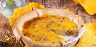 tarte de batata doce e nozes