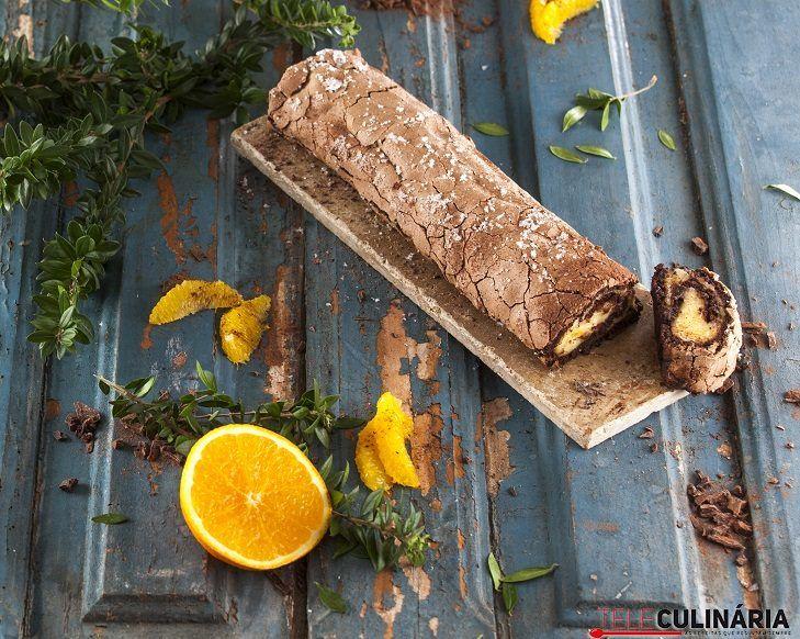 Torta de laranja com chocolate CHML 12