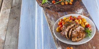 Carne de vaca assada no forno CHFB