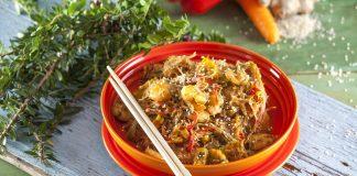 Noodles de camarao e milho CHPS 11