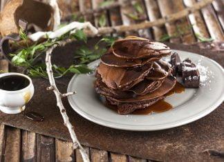 Panquecas de alfarroba e chocolate CHSB 13