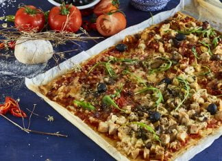 Pizza familiar com carnes frias CHFB 5 1