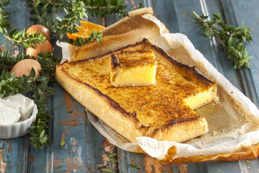 Tarte de queijo fresco -@Teleculinaria