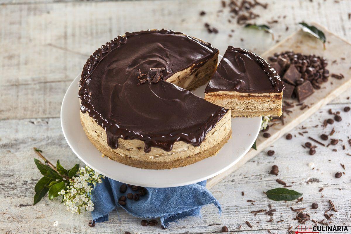 Cheesecake de cafe e chocolate CHML 12
