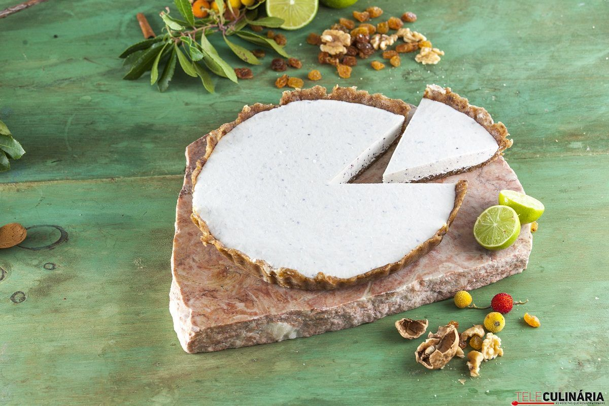 Cheesecake mirtilos e lima CHPS 10