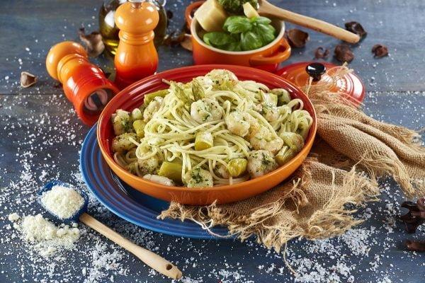 Esparguete de Camarão e Pesto CHPS 00008