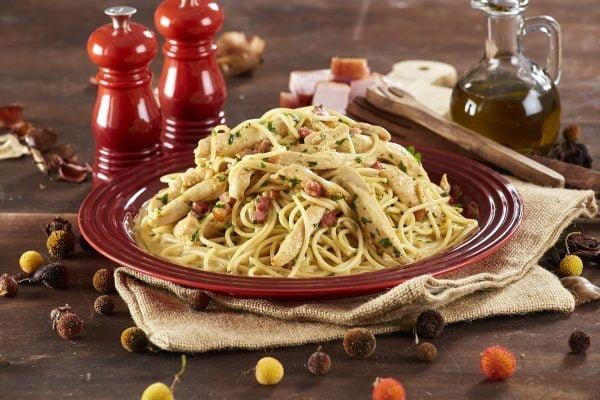 Esparguete de Galinha