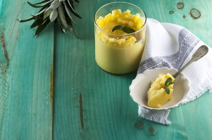 Gelatina de abacaxi CHPS 7