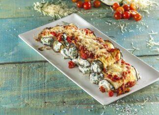 Rolinhos de beringela com espinafres CHFB 6