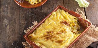 Paloco gratinado com delicias do mar