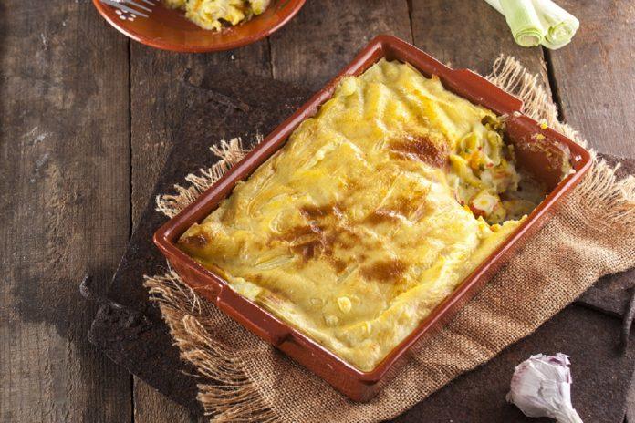Paloco gratinado com delicias do mar CHPS 9