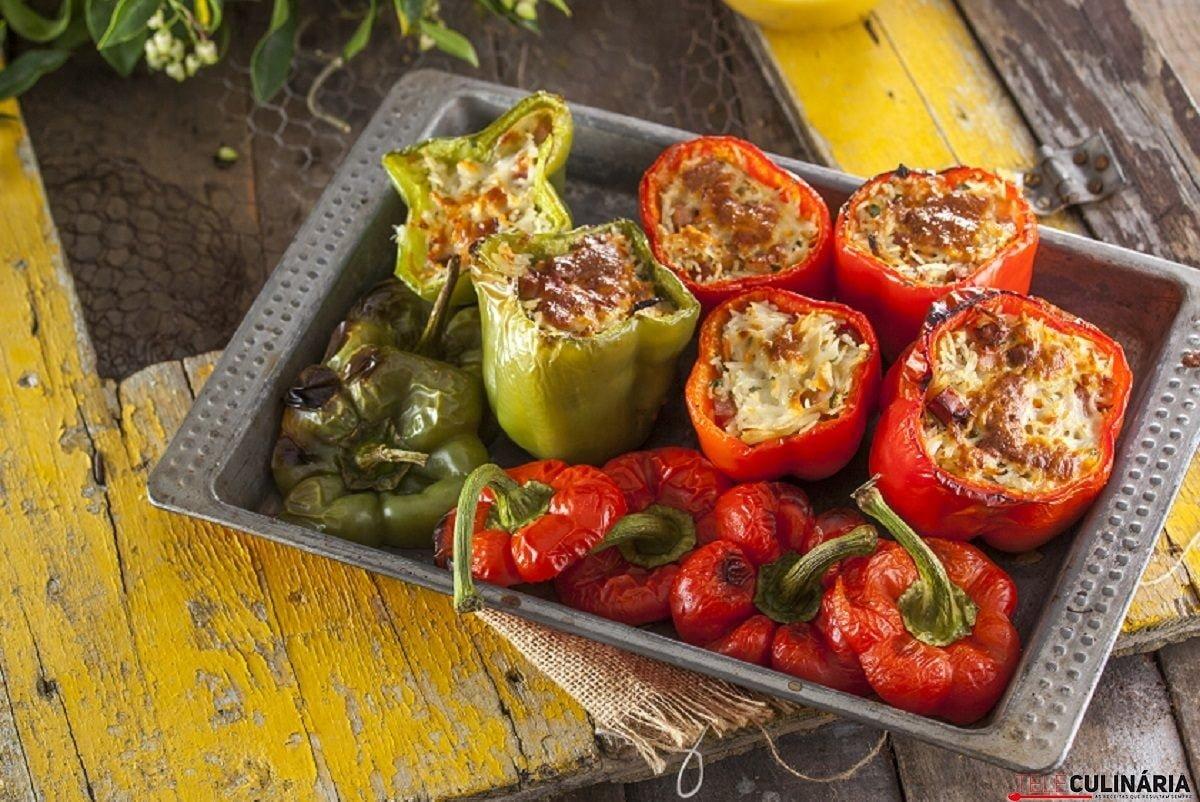 Pimentos recheados no forno CHFB 3