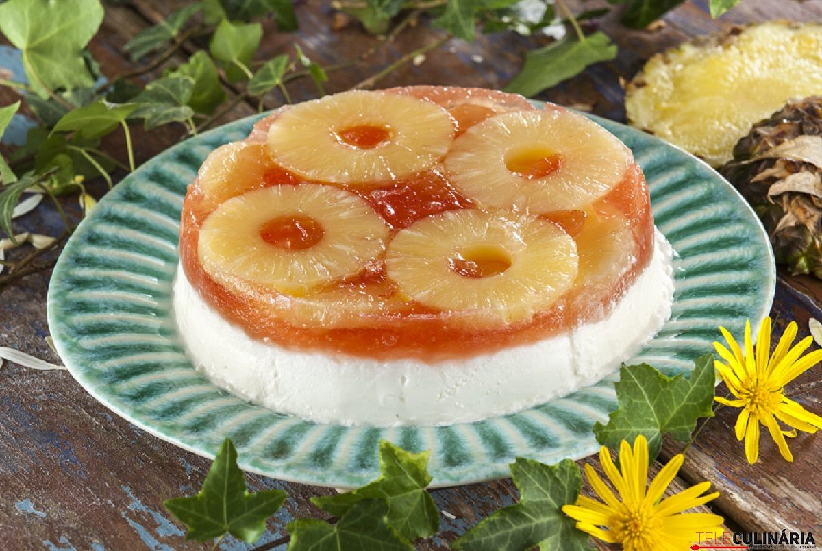 Pudim frio de ananas CHLM 9