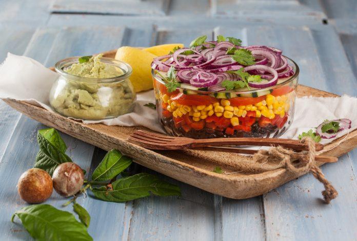 Salada Mexicana em Taça