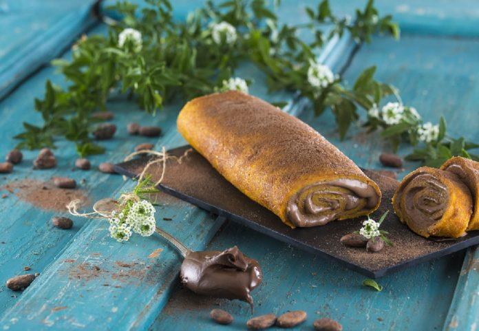Torta de Cenoura com recheio de Chocolate