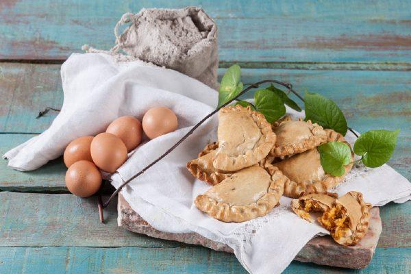Tortas de Ovo e Chila