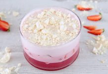 J0160 Parfait de morango e merengue CHMM