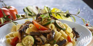 Massa com legumes grelhados CHSB 12