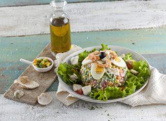 Salada de legumes com pescada CHFB 12