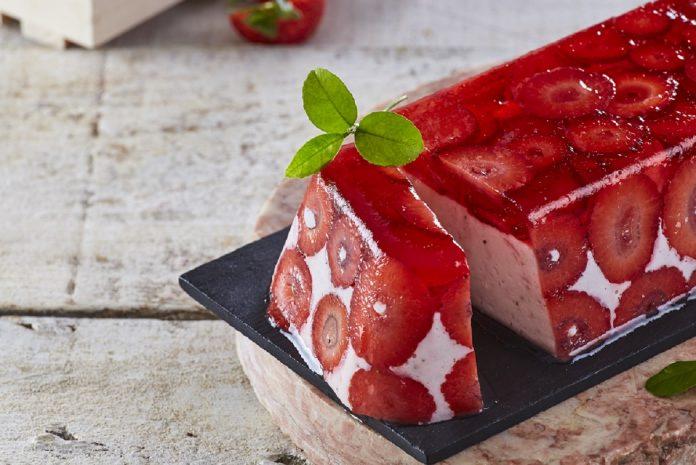 Delícia de morango e gelatina CHLM 7