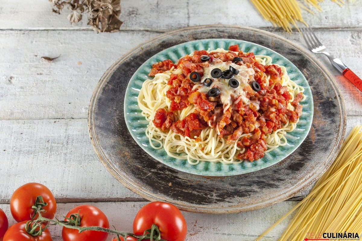 Esparguete amatriciana CHFB 14
