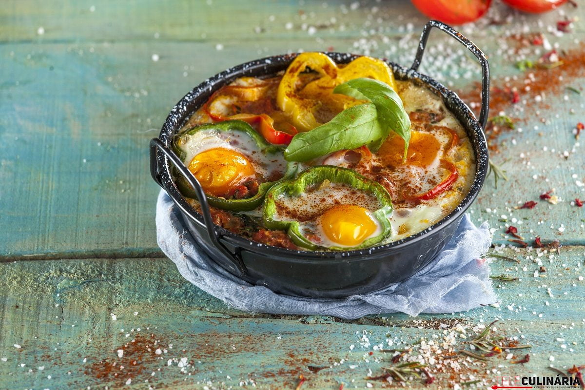 Legumes no forno com ovos CHFB 13