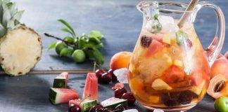 Sangria com Frutas da Época