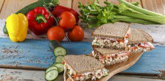 Sanduiche de frango e pepino CHML 13