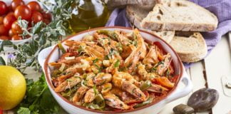Caldeirada de camarão