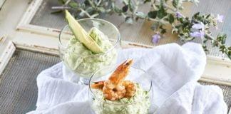 Mousse de abacate e mascarpone