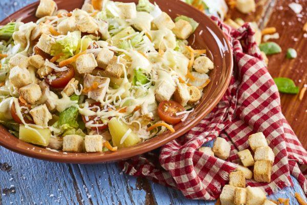 Salada de frango 9